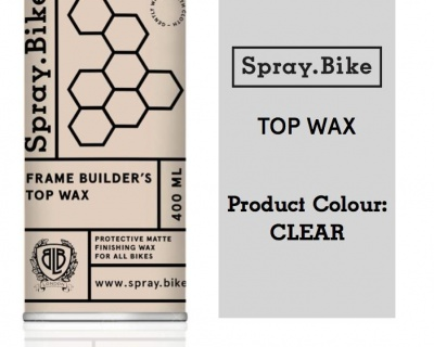 Spray.Bike Frame Builder's Top Wax 400ml