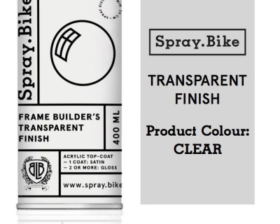 Spray.Bike Frame Builder's Transparent Finish  400ml