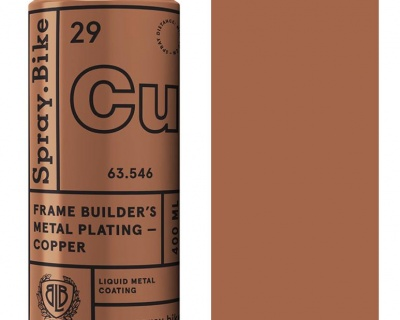 Spray.Bike Frame Builder's Metal Plating- Copper- 400ml