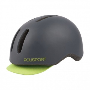 polispot commuter helmet fluo