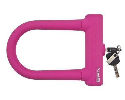 BRN Padlock Lock Fixed Pink