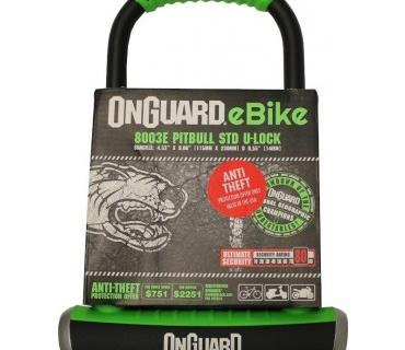 OnGuard eBike 8003E Pitbull STD U-Lock