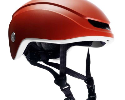 Brooks Island Helmet Red M