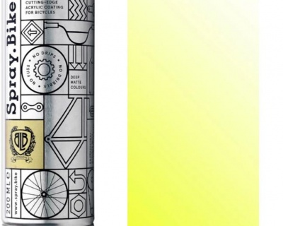 Spray.Bike Fluro Yellow Clear- 200ml.